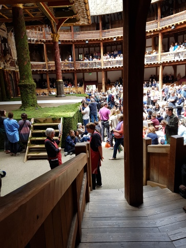 Globe Theatre Shakespeare in London!