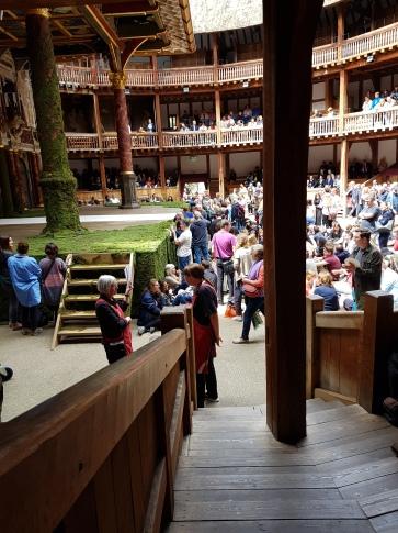 Globe Theatre Shakespeare in London!
