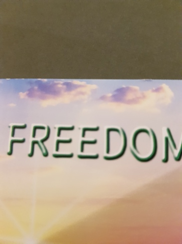 Freedom Blessing. It fits!