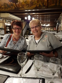 Met up with great friends Denise and Peggy from Newfoundland in Barcelona
