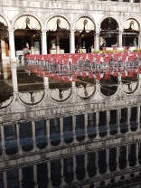 Reflections from the flooding in Venice
