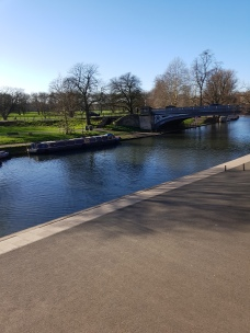 Beautiful river in Cambridge before snow arrived!