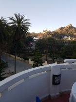 From my hotel in Mt Abu, early morning!