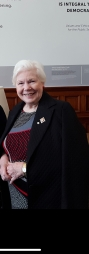 Meeting up with an old friend; Elizabeth Dowdeswell Lieutenant Governor.